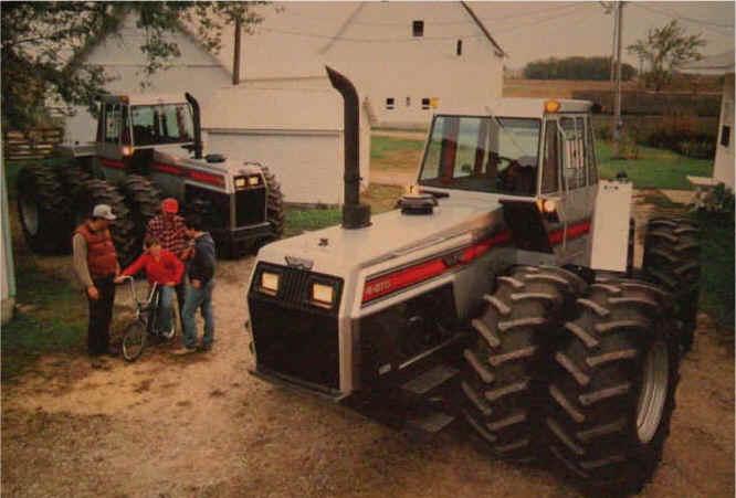 White 4 270 Tractor : White wdhistory
