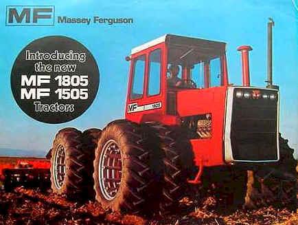Massey Ferguson 4wd Tractor, Massey Ferguson 1500 4wd, Massey